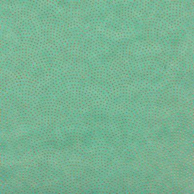 Papier japonais turquoise points dorés