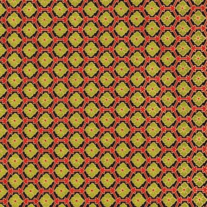 Image-papier-japonais-chiyogami-yuzen-fond-noir-serigraphie-de-motifs-geometriques-verts-et-rouges