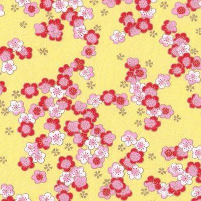 papier japonais jauneA