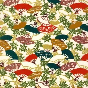Image-papier-japonais-katazome-shi-fond-naturel-impression-d-eventails-et-feuilles-d-erables