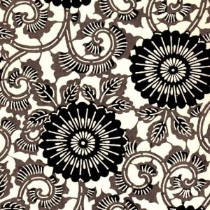 image-papier-japonais-katazome-shi-fond-naturel-impression-de-motifs-floraux-noirs-et-gris