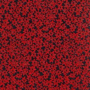 Image-papier-laque-noir-et-rouge-feuilles-d-erables