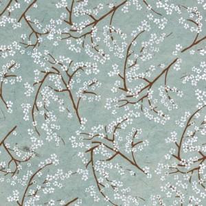 Image-papier-nepalais-fantaisie-fond-gris-impression-de-branches-de-cerisiers