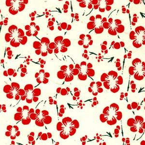 Image-papier-nepalais-fantaisie-fond-naturel-impression-de-fleurs-de-pruniers-rouges