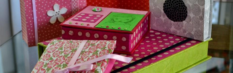Papier népalais et japonais pour jolies boites