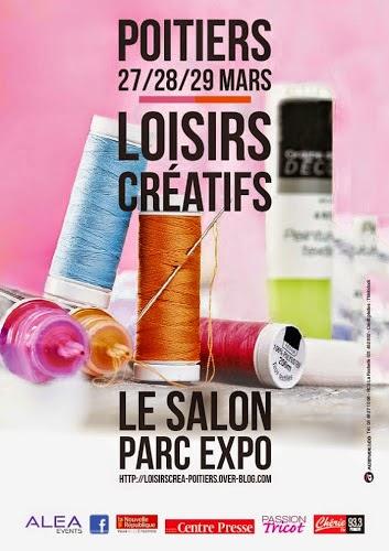 Salon des loisirs cr atifs de poitiers du 27 au 29 mars papiers japonais mon univers papier - Salon des loisirs creatifs poitiers ...