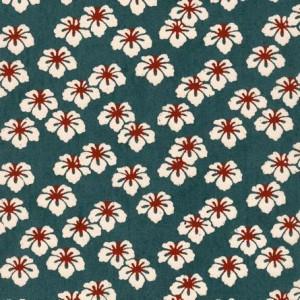 Image-papier-japonais-katazome-shi-fond-bleu-impression-de-fleur