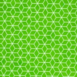 Image-papier-nepalais-fantaisie-fond-vert-pomme-impression-de-motifs-geometriques-blancs