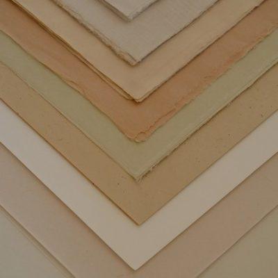 Papiers en fibres naturelles