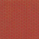 papiers- japonais-chiyogami-fond-rouge-orangé, sérigraphie de motifs géométriques dorés