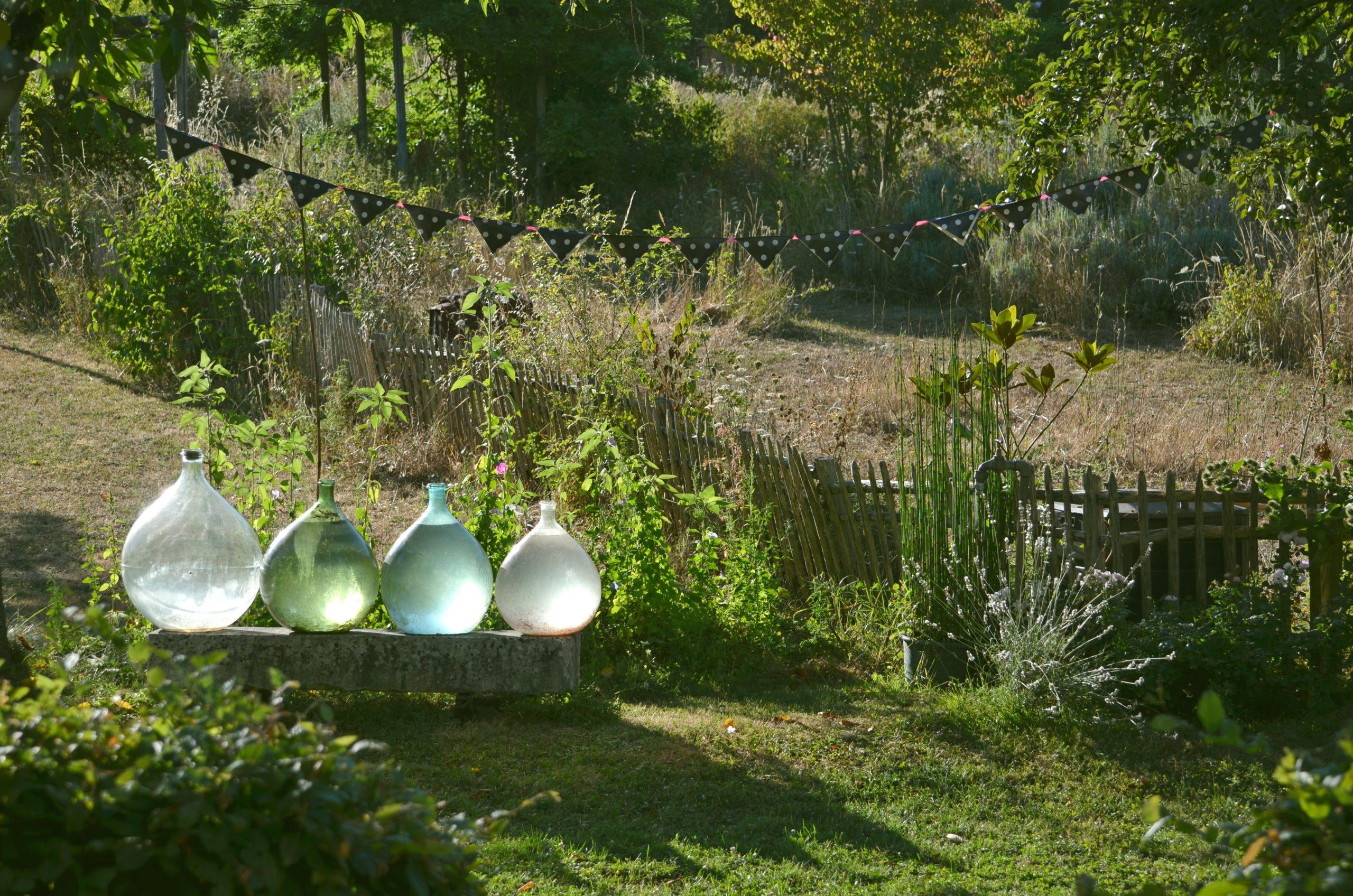 Dans le jardin d'Agnès Clairand