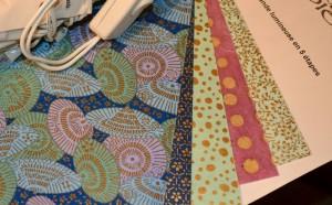 Kit guirlande lumineuse aux ombrelles bleues