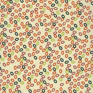 Papier népalais aux petits motifs ovales