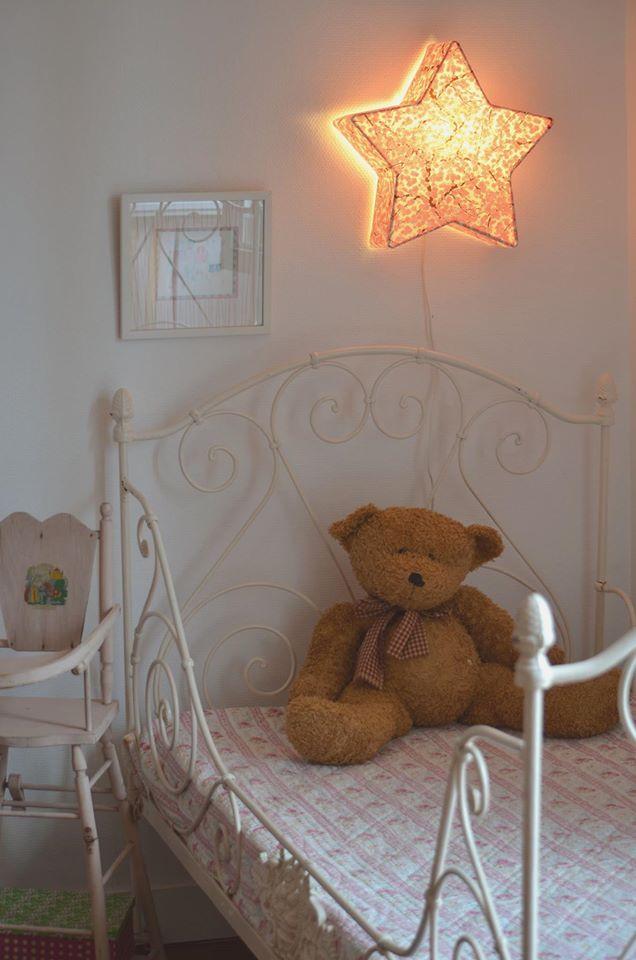 lampe applique lumineuse etoilee papier japonais agnes clairand 5 Impressionnant Applique Lumineuse Murale Uqw1