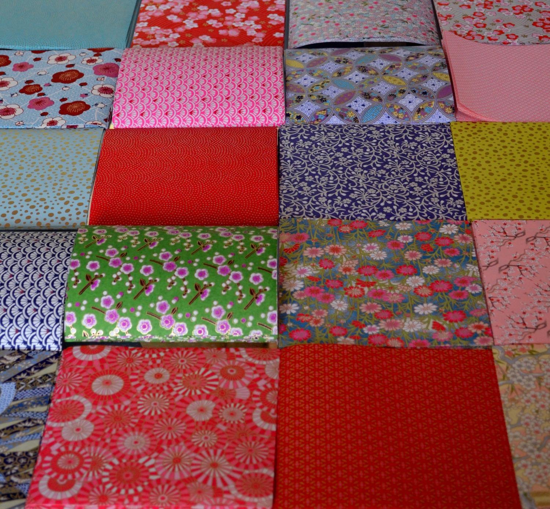 papier japonais pour l'origami