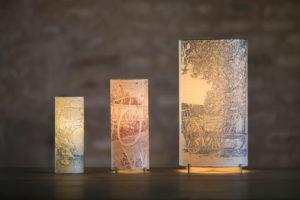 Lampes en papier japonais