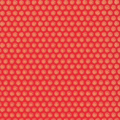 Papier japonais orange soleil jaune