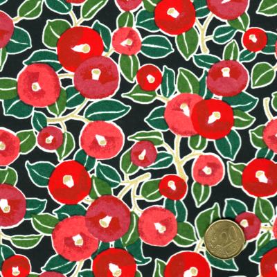 Chiyogami - Motifs floraux