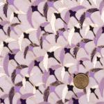 papier japonais fond mauve grues violettes
