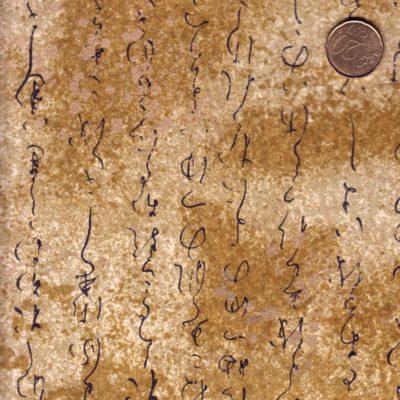 Papier japonais doré luxueux