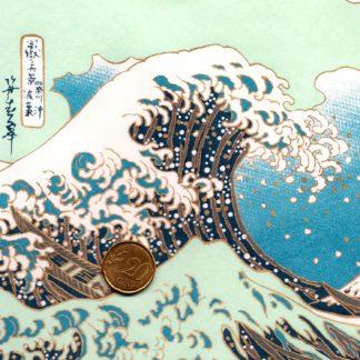 Papier japonais vague de hokusai
